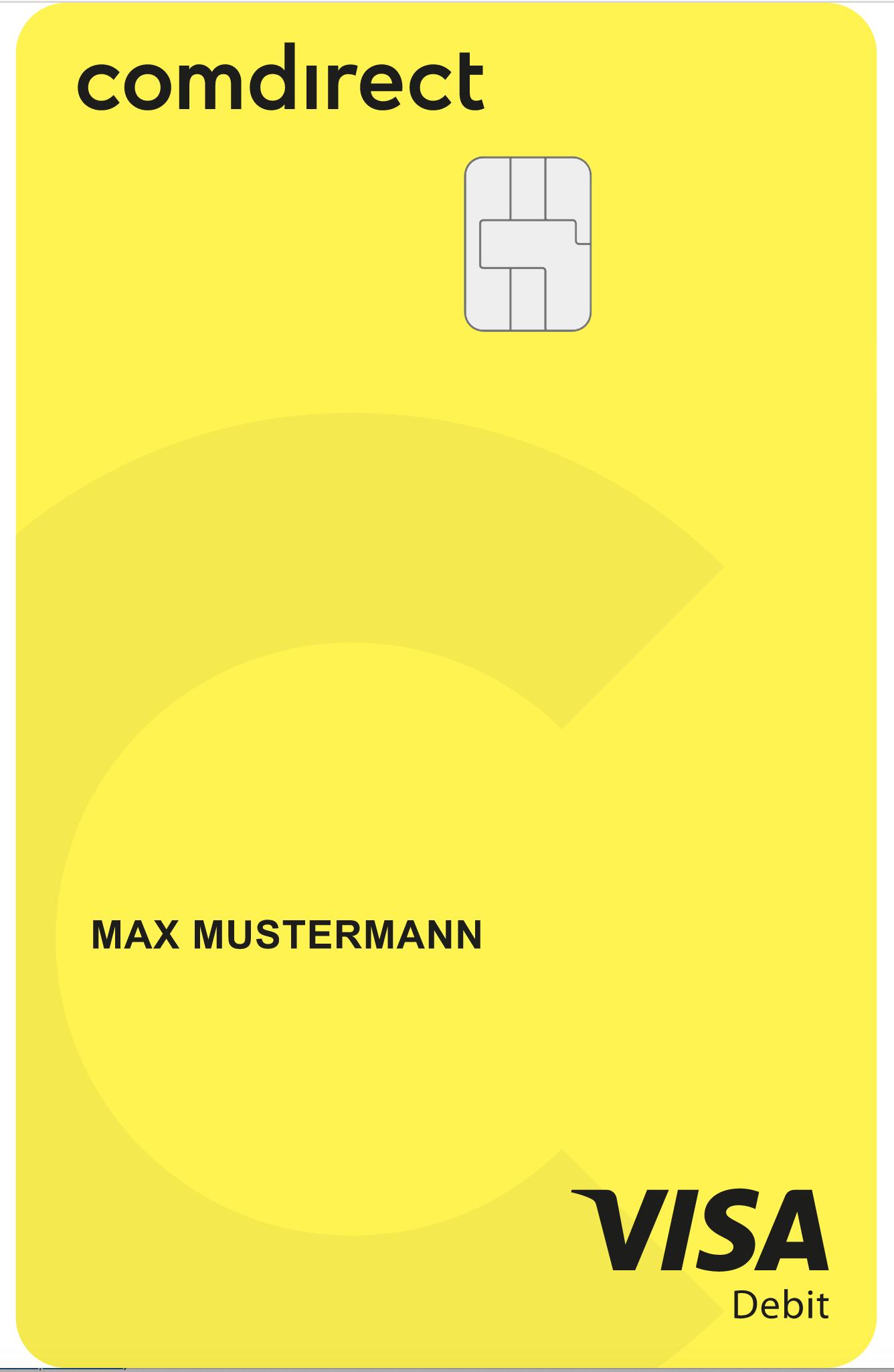 Umbau bei comdirect: VISA Debit, Kreditkarte mit Gebühr und ein